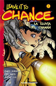 Portada del primer tomo recopilatorio de las aventuras de Chance