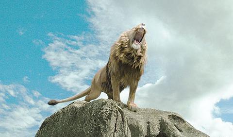 Aslan ruge en Narnia