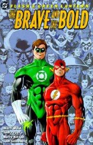 portada para el recopilatorio Braveand the bold que realizaron hace un tiempo Waid y Kitson para DC