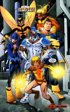 Titans East por Mike McKone en Teen Titans v3 #18