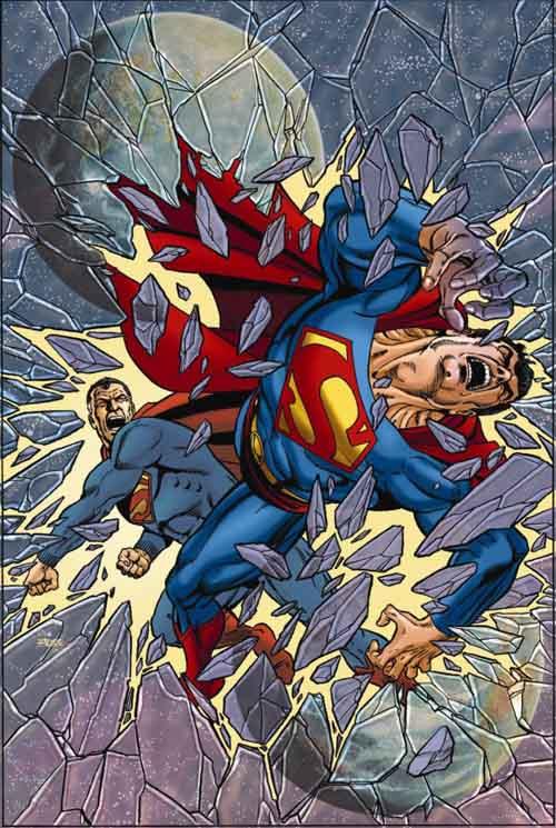 Cubierta alternativa de George Perez para Infinite Crisis #5