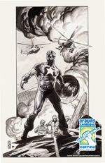 JG Jones/Capitán América/Marvel