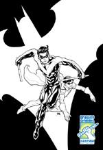 Cho/NightWing y Robin/DC