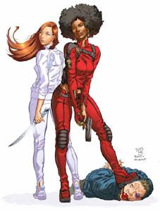 Daughters of Dragon/Marvel/Khari Evans