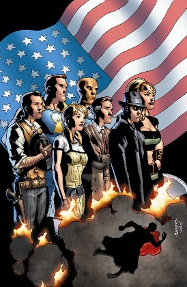 The American Way #1, por Georges Jeanty