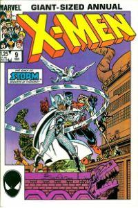 Uncanny X-Men Annual 9 Las guerras asgardianas