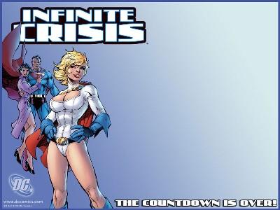 Wallpaper de Infinite Crisis #2 por Jim Lee