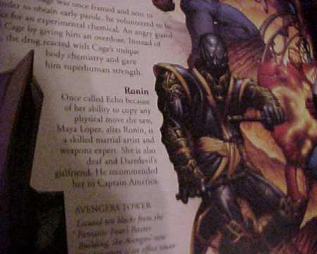 Escaneo de la guia de los Vengadores