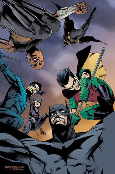 Batman Allies (2005) por Al Barrionuevo