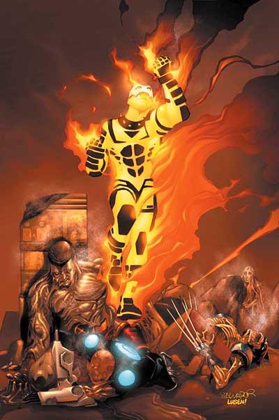 Portada X-Men #184