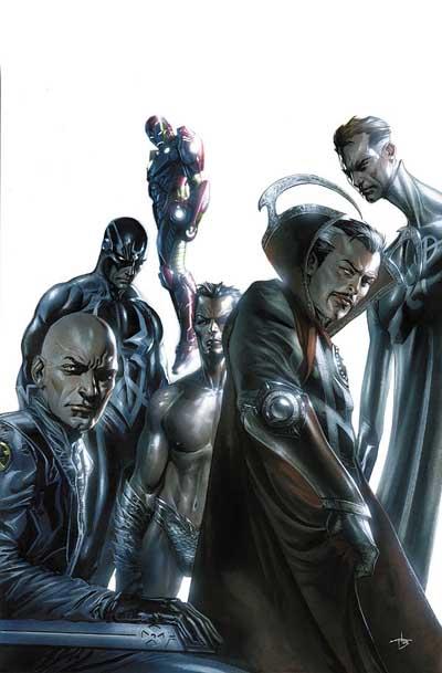 Portada de New Avengers Illuminati