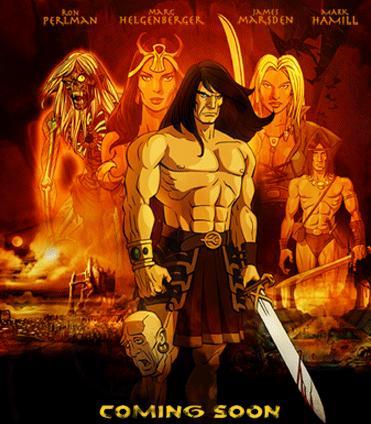 Conan Red Nails