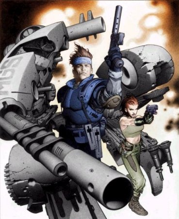 MGS by Tra