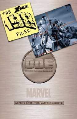 Portada del X-Men : The 198 Files