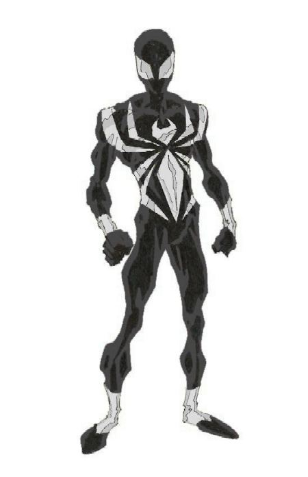 Black and White Spidey