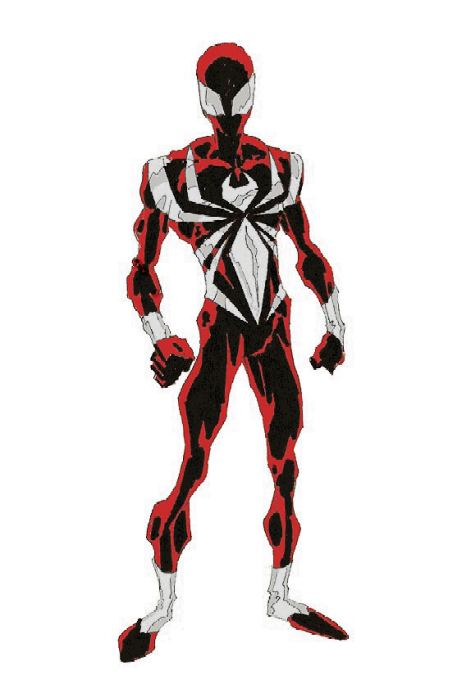White and Red Spidey