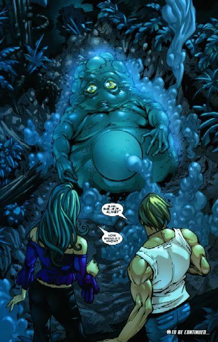 Nuestro amigo Blob ha vuelto..pelin hinchado..