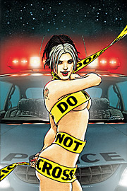Bite Club: Vampire Crime Unit #1 por Frank Quitely