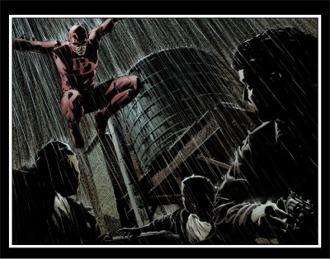 Paginas interiores de Daredevil #82/Lark