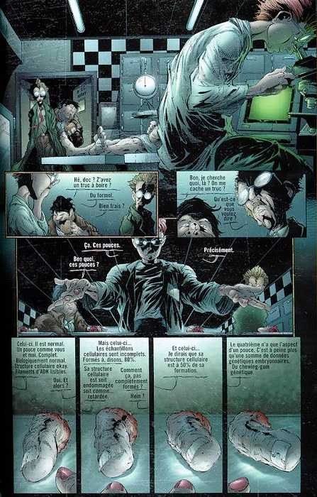 Página de Medina para Samo & Twitch según la narrativa Bendis