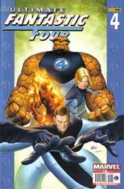 Portada del nº 4 de Ultimate Fantastic Four, por Stuart Immonen
