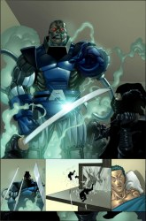 Pagina del X-Men #183/ Salvador Larroca