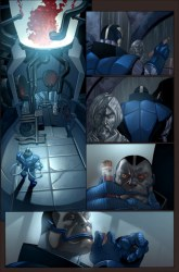 Pagina del X-Men #183/Salvador Larroca