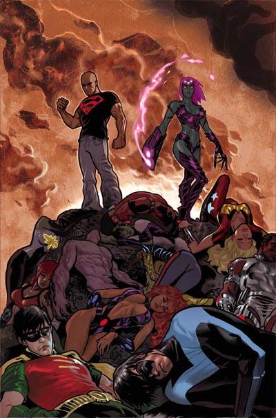 Daniel Acuña Portada TPB Teen Titans - Outsiders: The Insiders.
