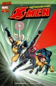 Portada del nº 1 de la edición española de Astonishing X-Men, por John Cassday
