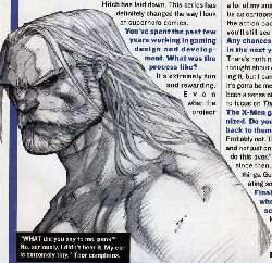 boceto Ultimate Thor/Joe Madureira