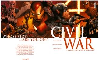 Civil War #1/Steve McNiven