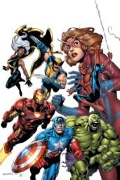 Marvel Adventures:Avengers #1/ Aaron Lopresti