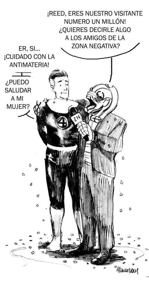 Dibujo de Alvaro Martinez
