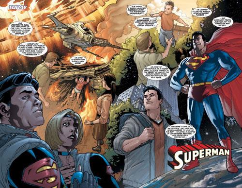 Superman de Kurt Busiek y Geoff Johns