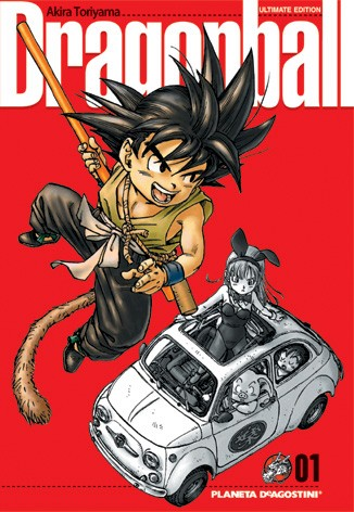 Portada tomo 1 edicion definitiva Dragon Ball