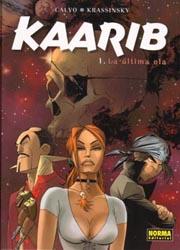 Portada del tomo recopilatorio de Kaarib