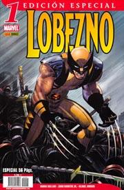 Portada de la edición especial del nº 1 de Lobezno, editado por Panini Cómics