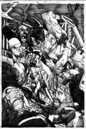 Lapices de Wolverine #42/ Humberto Ramos