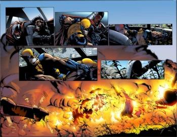 Paginas de Wolverine #42/Humberto Ramos