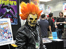 Ghost Rider tras pasar por la pelu