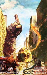 Ultimate Fantastic Four #30 (variant)/ Arthur Suydam