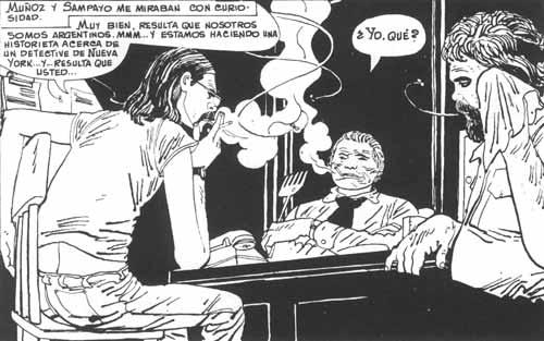 Sinner consultado por Muñoz y Sampayo/Planeta