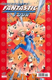 Portada de Ultimate Fantastic Four, por Adam Kubert