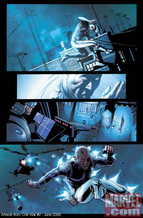 Pagina de CW 2 / Steve McNiven