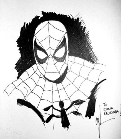 Boceto de Spider-Man/ Mike McKone