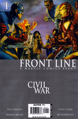 Civil War: Frontline #1 /Steve Leiber