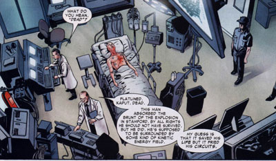 CW:Frontline 1/Steve Lieber