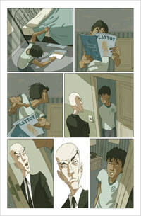Página para X-Men unlimited #11/ David Aja
