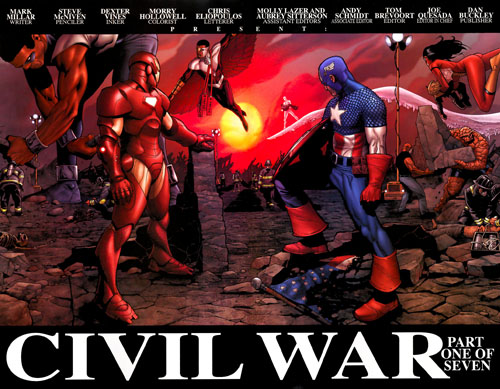 Civil War #1 /Mc Niven
