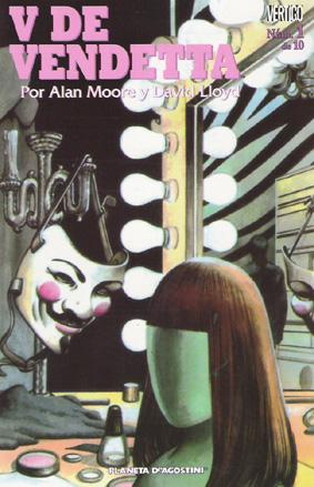 Portada del numero 1 V de Vendetta/ Planeta